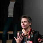 Małgorzata Haduch prowadzi zajęcia